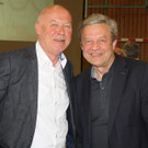 Pfarrer Peter Mathei und Altbürgermeister Reinhard Dür. - Pfarrer Peter Mathei und Altbürgermeister Reinhard Dür.