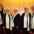 Mit dabei: Ingrid Troy, Frieda Bischof, Ingrid Manser, Bernadette Kohler und Gerlinde Scharler. - Mit dabei: Ingrid Troy, Frieda Bischof, Ingrid Manser, Bernadette Kohler und Gerlinde Scharler.