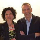 Interessierte Konzertbesucher: Richard und Luise Lingg. - Interessierte Konzertbesucher: Richard und Luise Lingg.