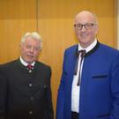 Vizeobmann Hermann Hörtnagel und Moderator Reinhard Willi.  - Vizeobmann Hermann Hörtnagel und Moderator Reinhard Willi.