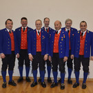 Obmann und Kapellmeisteer mit allen Jubilaren - Obmann und Kapellmeisteer mit allen Jubilaren