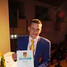 Matthias Österle (Lauterach) freute sich über den VVF - Silberorden - Matthias Österle (Lauterach) freute sich über den VVF - Silberorden