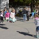 Pause auf dem Schulhof - Pause auf dem Schulhof