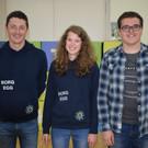 BORG-Team: MAg. Alex Feurle, Sonja Peter und Simon Lässer. - BORG-Team: MAg. Alex Feurle, Sonja Peter und Simon Lässer.