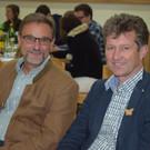 Expertenrunde: Herbert Erhart und Ulrich Sauter. - Expertenrunde: Herbert Erhart und Ulrich Sauter.
