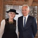 Obmann Herbert Dorn und Leiterin Martina Mätzler. - Obmann Herbert Dorn und Leiterin Martina Mätzler.