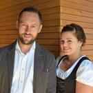 Bgm. Ulrich Schmelzenbach und Katharina Graf. - Bgm. Ulrich Schmelzenbach und Katharina Graf.