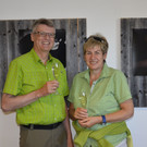 Reinhard und Wilma Kontrastprogramm Ausstellungseröffnung und Wandern - Reinhard und Wilma Kontrastprogramm Ausstellungseröffnung und Wandern