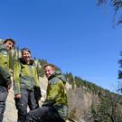 Die Ranger Max, Carola und Florian informieren über die Naturschätze des Naturparks und geben Tourentipps. - Die Ranger Max, Carola und Florian informieren über die Naturschätze des Naturparks und geben Tourentipps.
