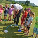 Auch ein Besuch auf dem Riefensberger Golfplatz stand auf dem Programm - Auch ein Besuch auf dem Riefensberger Golfplatz stand auf dem Programm