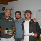 Arnold Feuerstein (li.) wurde Wälder Golfmeister. - Arnold Feuerstein (li.) wurde Wälder Golfmeister.