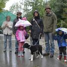 Die Hirtenfamilie Kutzer kam zum besonderen Anlass von der Alpe Gunzmoos ins Tal. - Die Hirtenfamilie Kutzer kam zum besonderen Anlass von der Alpe Gunzmoos ins Tal.