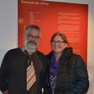 Klaus Pfeifer vom Egg-Museum mit Gattin Barbara - Klaus Pfeifer vom Egg-Museum mit Gattin Barbara