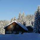 .....zurück ins Dorfzentrum (Im Bild: Ellmauer Hütte) - .....zurück ins Dorfzentrum (Im Bild: Ellmauer Hütte)