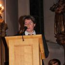 Barbara Albrecht trug Gedanken zum Advent vor.  - Barbara Albrecht trug Gedanken zum Advent vor.