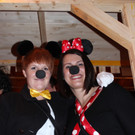 Mickey Mouse und Minnie. - Mickey Mouse und Minnie.