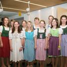 Schülerinnen der Mittelschule Lingenau - Schülerinnen der Mittelschule Lingenau