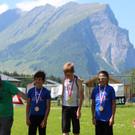 Die Sieger der Einzelwertung 3. und 4. Klasse Volksschule. - Die Sieger der Einzelwertung 3. und 4. Klasse Volksschule.