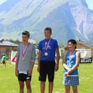 Die Sieger der Einzelwertung 3. und 4. Klasse Mittelschule. - Die Sieger der Einzelwertung 3. und 4. Klasse Mittelschule.