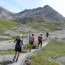 In der Schröckner Bergwelt wanderten die Teilnehmer von einem zum anderen Gipfel.  - In der Schröckner Bergwelt wanderten die Teilnehmer von einem zum anderen Gipfel.
