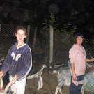 Stolze Ziegenbesitzer  - Stolze Ziegenbesitzer