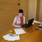 Simone Bilgeri ist die Projektverantwortliche für die Talentetauschbörse. - Simone Bilgeri ist die Projektverantwortliche für die Talentetauschbörse.