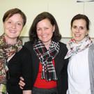 Lucia Berlinger, Christa Baumann und Michaela Sohm. - Lucia Berlinger, Christa Baumann und Michaela Sohm.